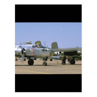 A26 Invader. (plane;a26_WWII Planes Postcard