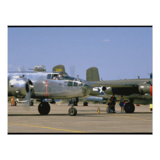 A26 Invader. (plane;a26_WWII Planes Poster