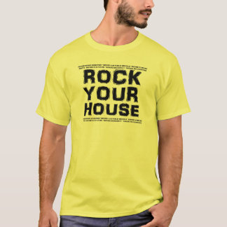 A26 ROCK YOUR HOUSE Rally Shirt (men)