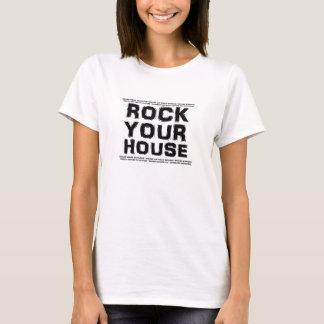 A26 ROCK YOUR HOUSE Rally Shirt (women)