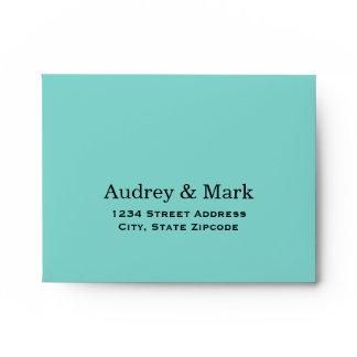 A2 Aqua Blue Response Envelopes