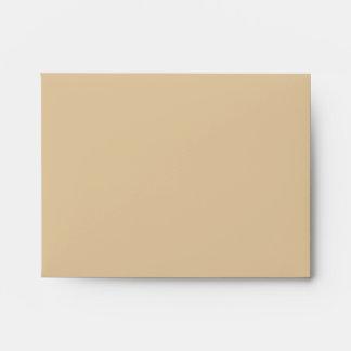A2 Brown Polka Dot Flower Pastel Envelopes