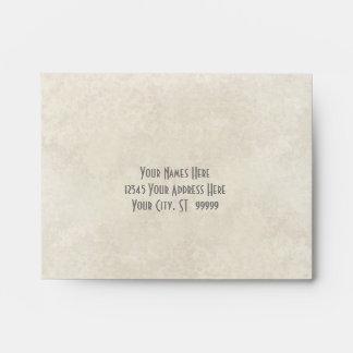 A2 Matching Envelope Ombre Chevron Stripe Zig Zag