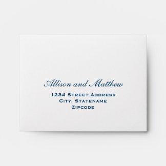 A2 Navy Blue Response Envelopes