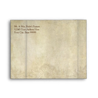 A2 Note Card Thank You Envelopes Rustic Vineyard
