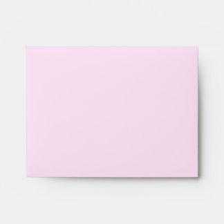 A2 Pink Polka Dot Flower Pastel Envelopes