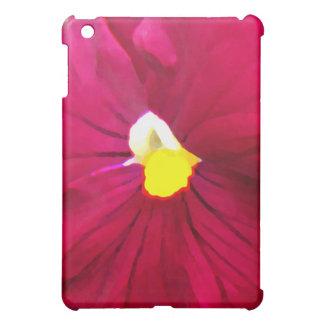 a2 Pink Raspberry Pansy iPad Mini Case