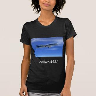 A321 Jet Airliner Aircraft Tee Shirts