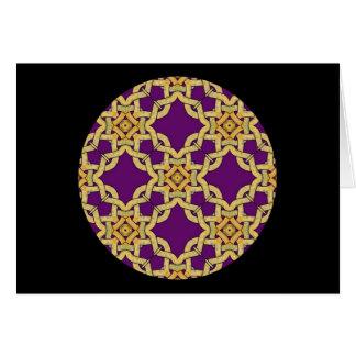 A35 Celtic Knot Kaleidoscopic Card.4 Card