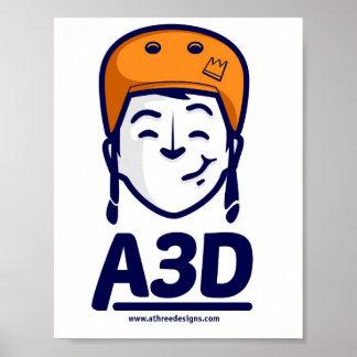A3D Logo Poster Poster