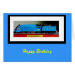 a4 mallard rb, Happy Birthday Greeting Card