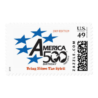 A500-Flag-logo, Bring Home The Spi... - Customized Postage Stamp