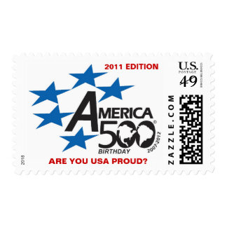 A500-USA PROUD Stamp-Collector Series Postage Stamp