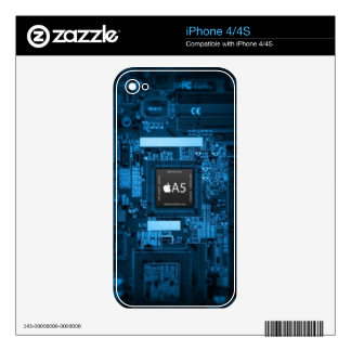 A5 chip skin for iPhone 4