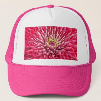 a5 Hot Pink Zinnia Burst Trucker Hat