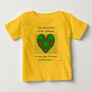 "A63 Desiderata - ""Child of Universe Baby T-Shirt"