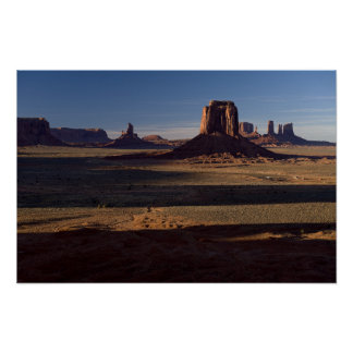 a6866 - Artist Point, Monument Valley Print