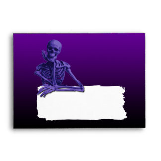 A6 Halloween Invitation Envelope