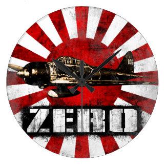 A6M cero Reloj Redondo Grande