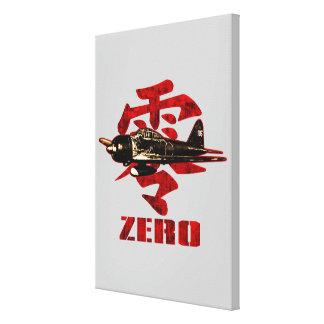 A6M Zero Canvas Print
