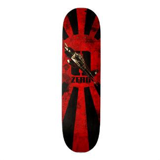 A6M Zero Skateboard Deck