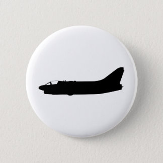 A7 Corsair Silhouette Pinback Button