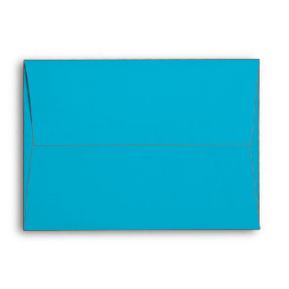 A7 Envelope turquoise