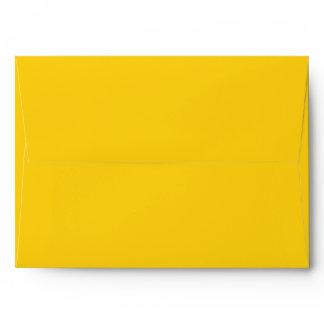 A7 Envelope yellow