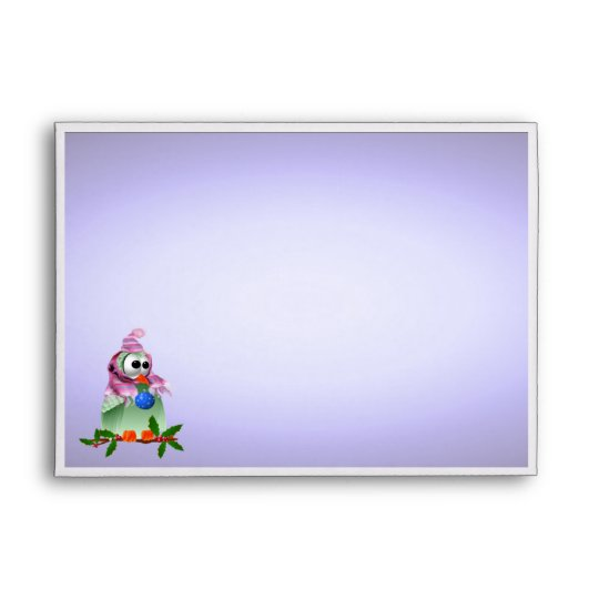 A7 Greeting Card Christmas Decoration Bird Envelope