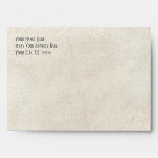 A7 Matching Envelope Ombre Chevron Stripe Zig Zag
