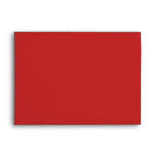 A7 Red Candy Cane Striped Christmas Envelopes