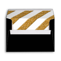 A7 Wedding Envelopes Script Forever Love Glitter