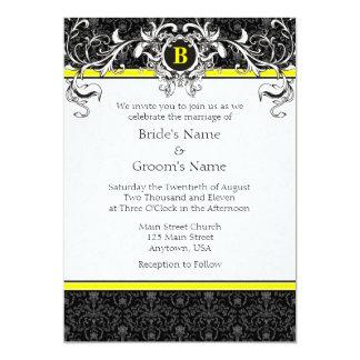 Black white yellow damask wedding invitations besides Plan details moreover Eccm21 48542 additionally 48542 o lacertosa additionally 48542. on 48542