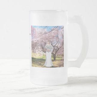 A83 Cherry Blossom Bride Toasting Mug