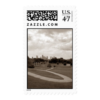 a99xel Houston - Spotts Park and Downtown Postage