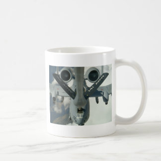 A-10 Being refueled by KC-135 Classic White Coffee Mug