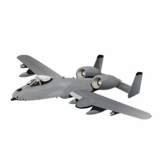 A-10 Bomber Aircraft Cutout