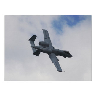 A-10 In Flight Poster
