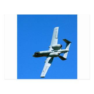 A-10 LIGHTNING BOLT POSTCARD