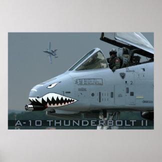 A-10 poster del rayo II