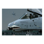 A-10 poster del rayo II Póster