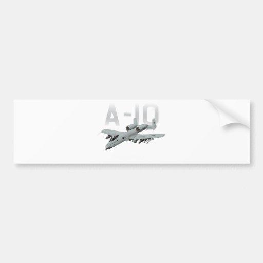 A-10 rayo II Pegatina De Parachoque