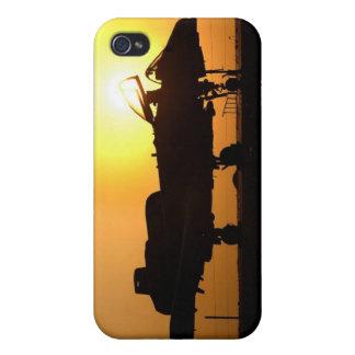 A-10 rayo II iPhone 4 Protectores