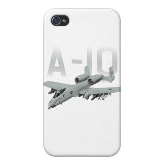 A-10 rayo II iPhone 4/4S Carcasas