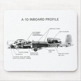 A-10 rayo II Mousepads