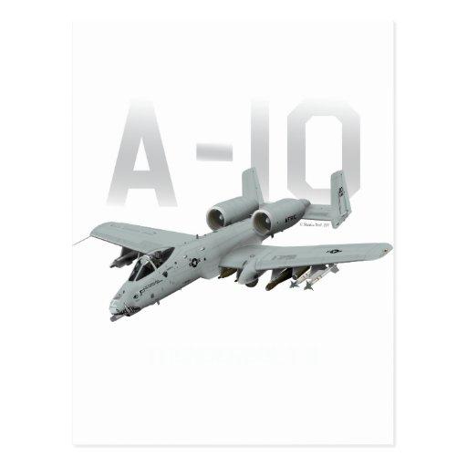 A-10 rayo II Tarjeta Postal