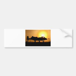 A-10 SUNRISE CAR BUMPER STICKER