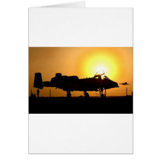 A-10 SUNRISE CARD