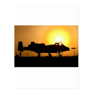 A-10 SUNRISE POSTCARD