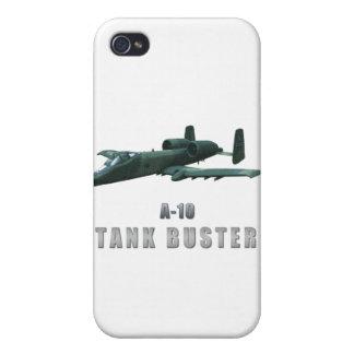 A-10 Tankbuster iPhone 4/4S Carcasa